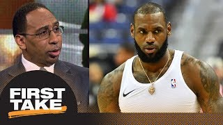 Stephen A. reacts to LeBron James not supporting changes to NBA playoff format | First Take | ESPN