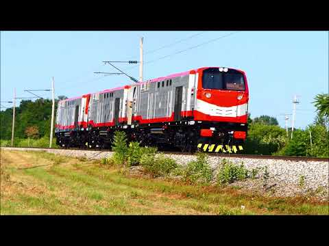 Egyptian Railways ES30ACi Locomotives