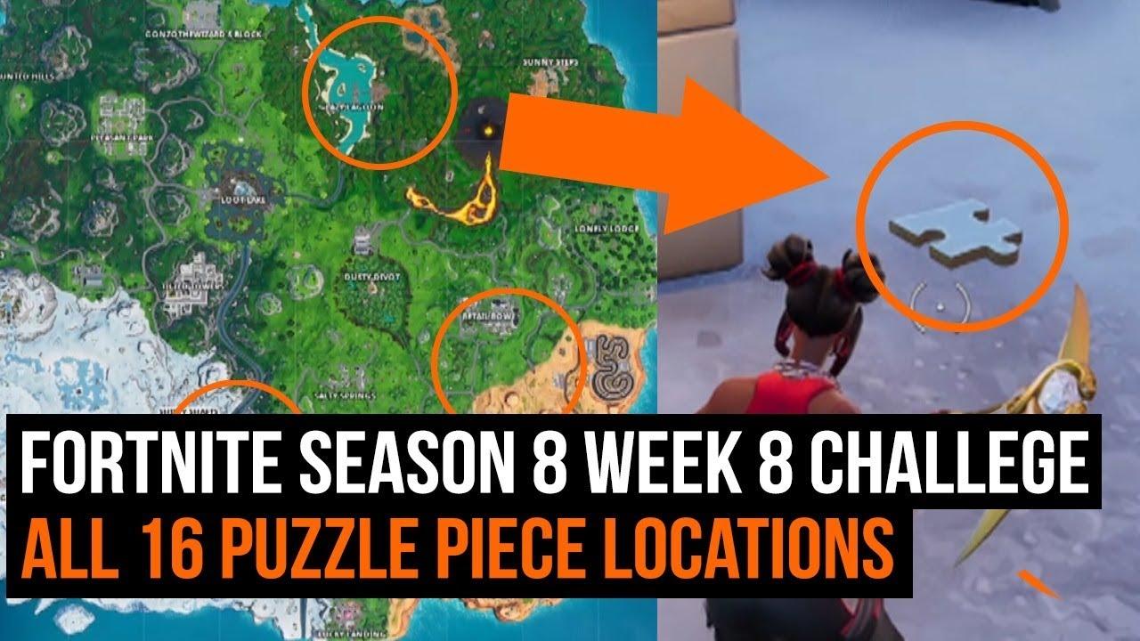 Missing puzzle pieces fortnite