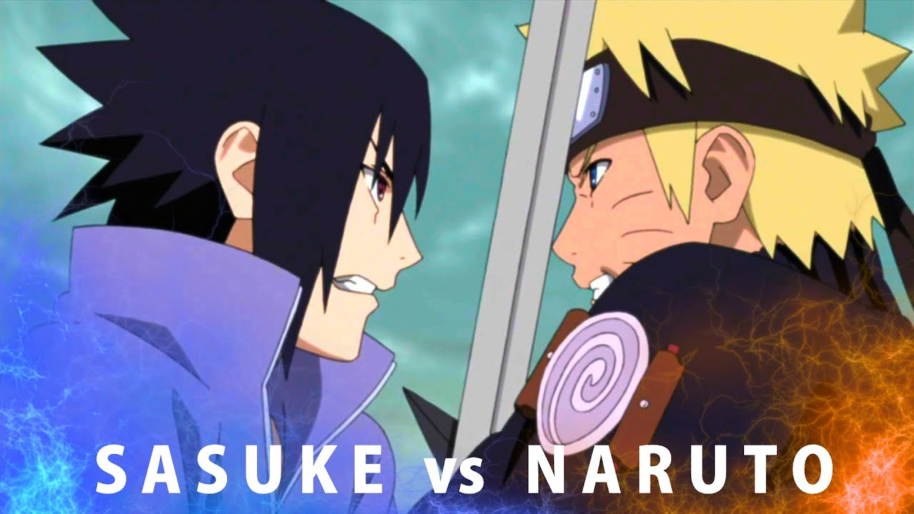 Naruto Vs Sasuke All Fighting Scenes Bad Blood Amv Youtube