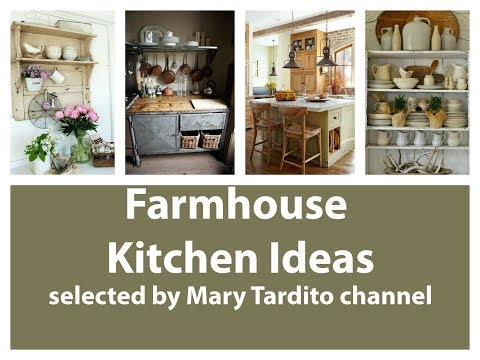 Farmhouse Kitchen Ideas - Rustic Kitchen Interiors