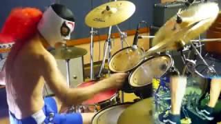 【紅 ドラム 1.4倍速】X JAPANの紅を1.4倍速で叩いてみた! - X JAPAN - KURENAI - 140% Speed -Drum cover dainashi / ドラム / ゲーム音楽