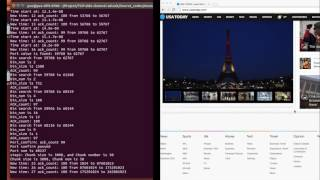 Pure Off-path TCP attack demo by using a side channel in Recent Linux Kernel