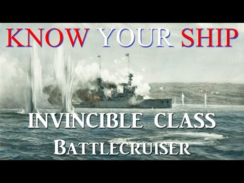 World of Warships - Know Your Ship #35 - Invincible Class Battlecruisers