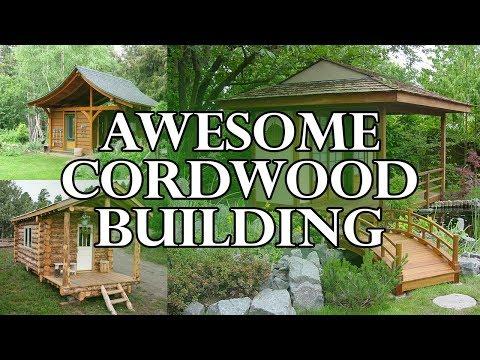 Awesome Cordwood Building - Streamlanka Creative Arts