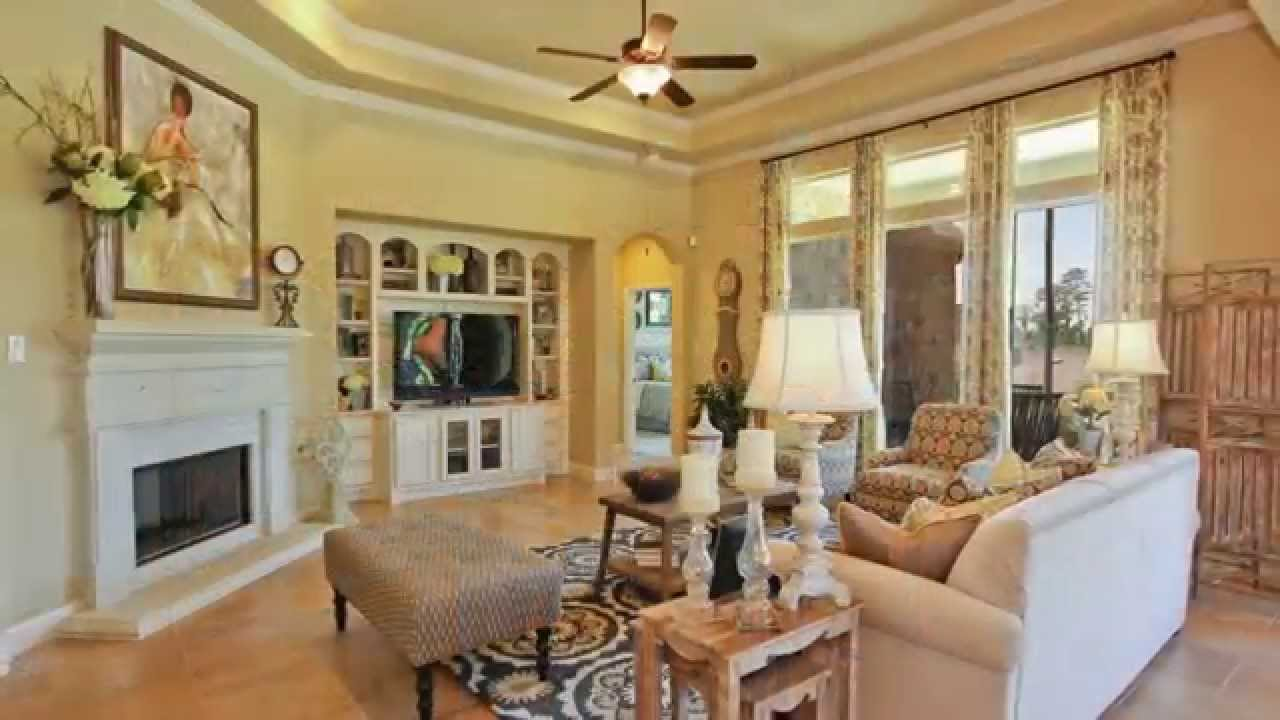 Bayberry model houston village builders youtube for Houston home designers