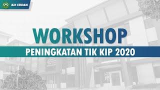 WORKSHOP PENINGKATAN TIK KIP 2020 Hari 2. Part. 2