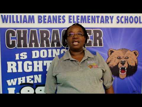 Culture @ William Beanes Elementary School