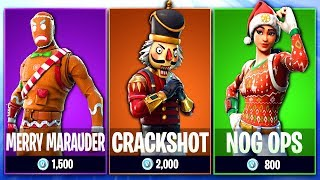 Fortnite Christmas Skins COMING BACK *CONFIRMED* (Merry Marauder, Nog Ops, Crackshot & MORE)