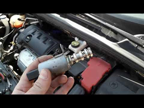 Промывка магнитных клапанов на Пежо 308