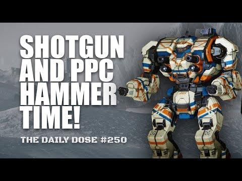 Shotgun + PPC Warhammer. NOW WITH SKILLS! Mechwarrior Online The Daily Dose #250