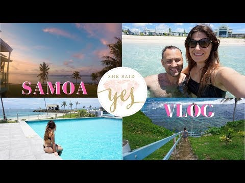 A week in SAMOA: Our First Holiday VLOG! Travel to Upolu, the Samoan Pacific Island!