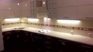 Обзор кухни МДФ с фурнитурой blum