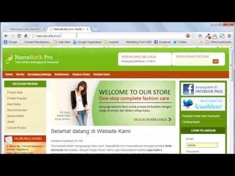 Tutorial Website : Mengganti Tampilan Website Anda