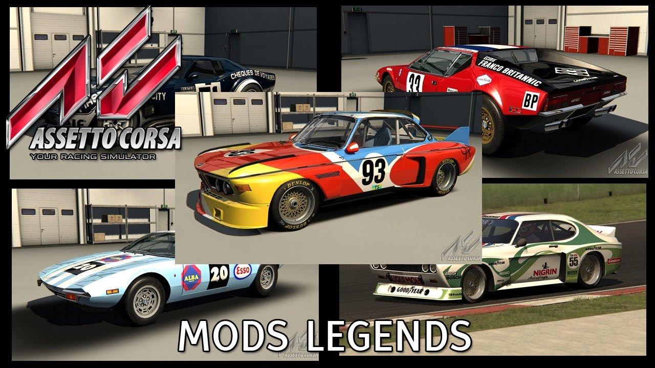 Assetto Corsa Live - New Mods GT Legends