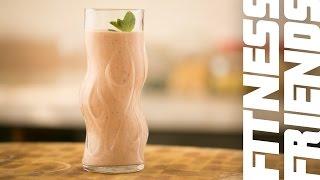 Фруктовый Шейк с Греческим Йогуртом и Мятой || iCOOKGOOD on FOOD TV || Напитки