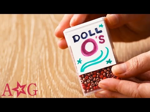 How to make fake cereal for dolls omag american girl youtube how to make fake cereal for dolls omag american girl ccuart Choice Image
