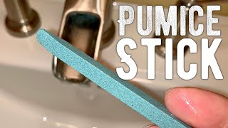 Pumice Stone Nail File Review