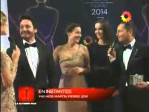 Natalia Oreiro in Red Carpet of Martin Fierro Awards 2014