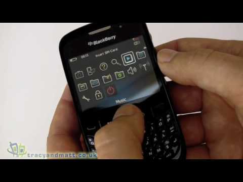 BlackBerry Curve 8520 Gemini unboxing video