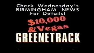 1990 Greenetrack First annual handicapping contest commercial Thumbnail