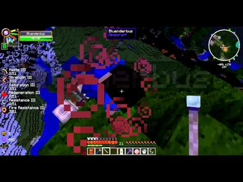 FTB Monster Let's Play E25 | The promised land, with Blue!