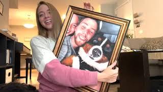 Bernese Mountain Dog Receives Amazing Painting
