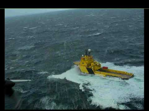 Disabled Vessel Drift in the Bering Sea and Aleutian Islands 20170822