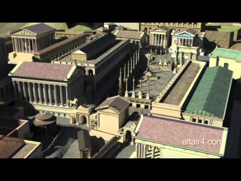 Forum Romanum Reconstruction