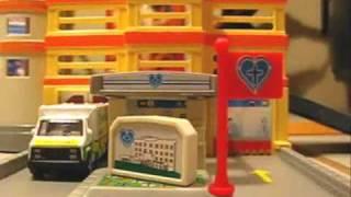 Motor Max Dyna City Hospital Modular Building Playset Review