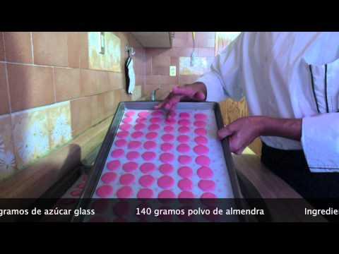 MACARRONES Repostería Profesional Chef Vargas México