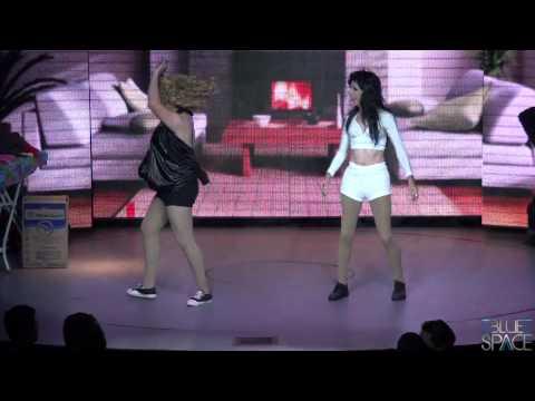 Blue Space Oficial - Natasha Rasha, Valenttini Drag e Stefany Di Bourbon - 09/08/2014