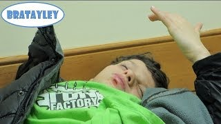 Caleb Busted His Lip Open! (WK 164.7) | Bratayley thumbnail