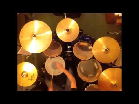 Once In a Lifetime  - Talking Heads Drum cover Verson 2