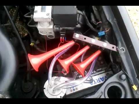 Volvo 940 Triple Air Horns