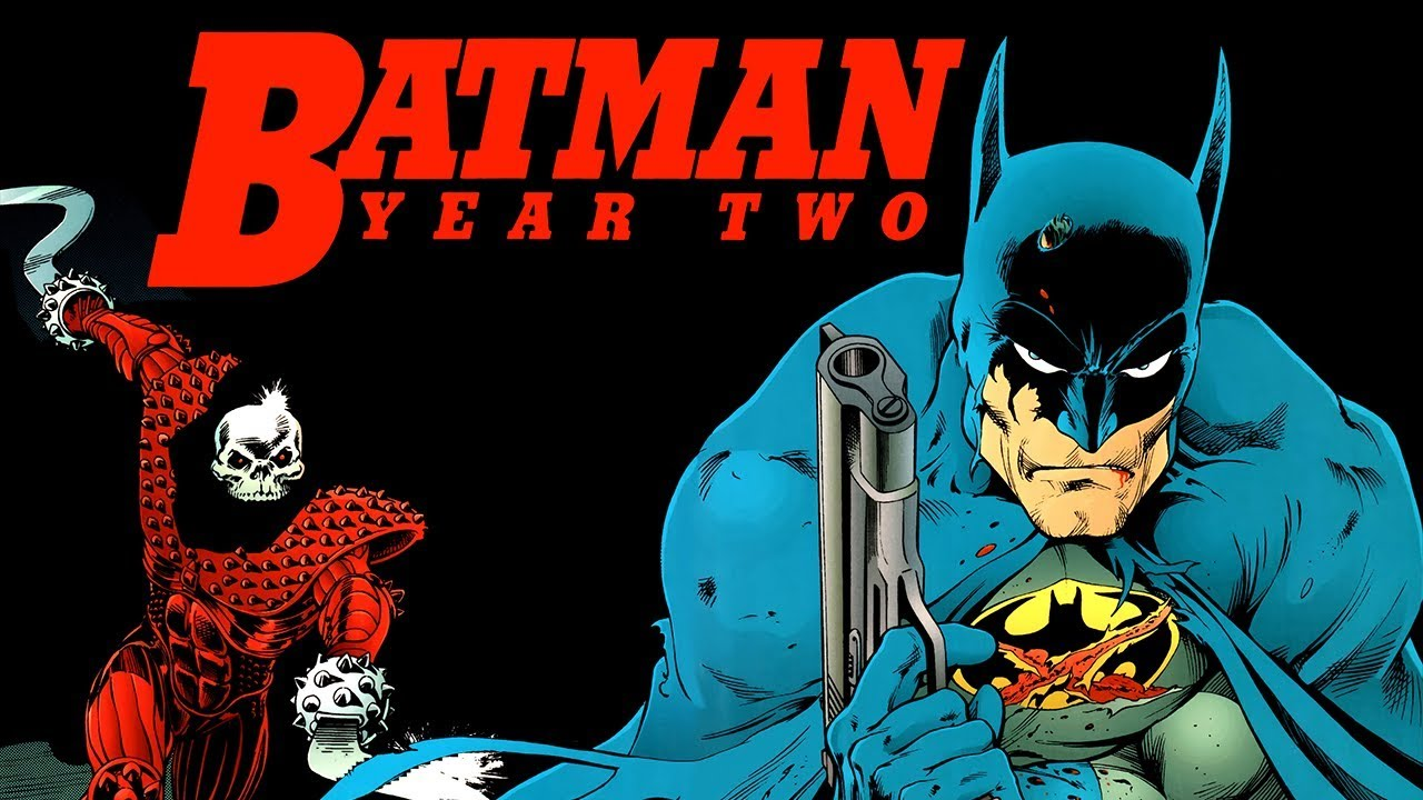 Image result for Batman year two