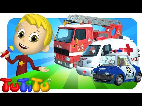 Thumbnail: TuTiTu Songs Channel | Rescue Force Special | Sing Along For Kids