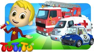 TuTiTu Songs Channel | Rescue Force Special | Sing Along For Kids