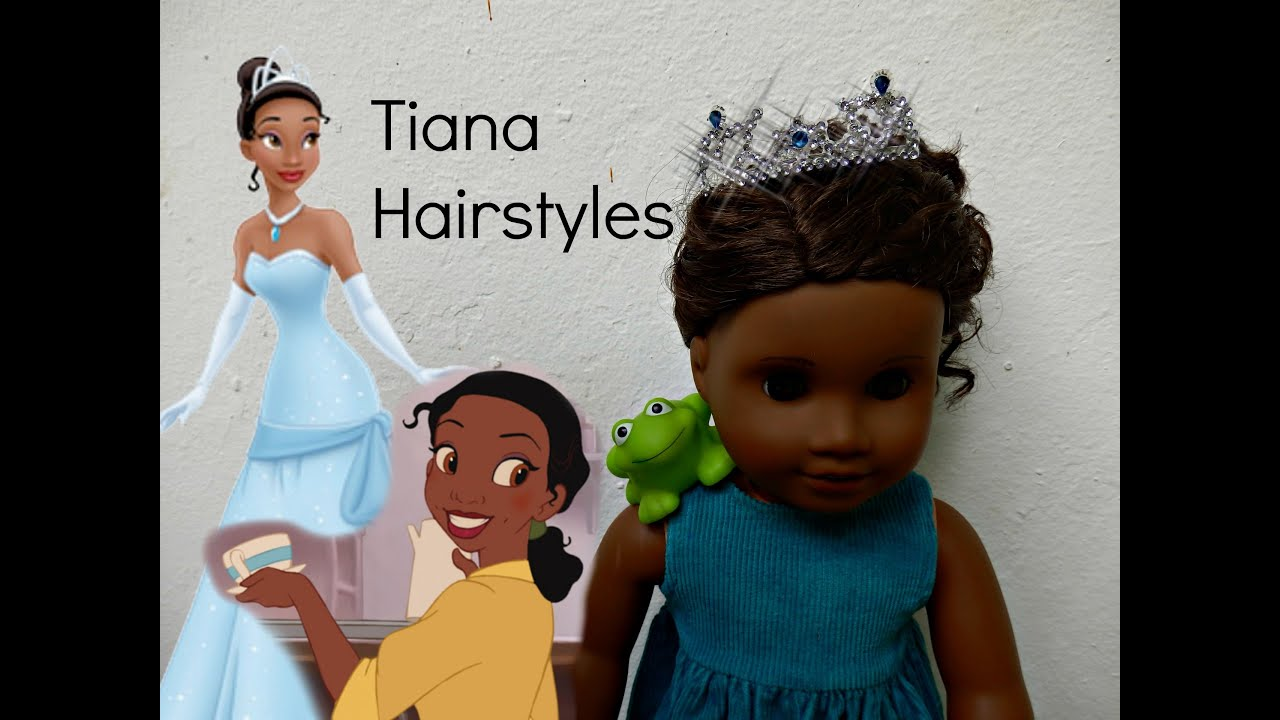 how to = princess hair do -tiana- - youtube