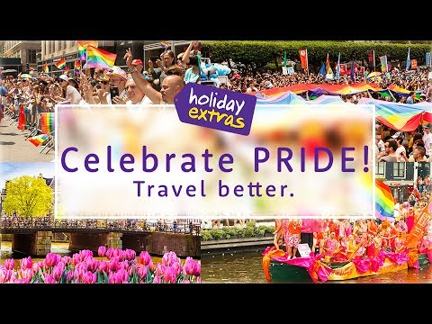 Top places to celebrate PRIDE! 🙌🏻✨❤ | Travel Better with Holiday Extras!