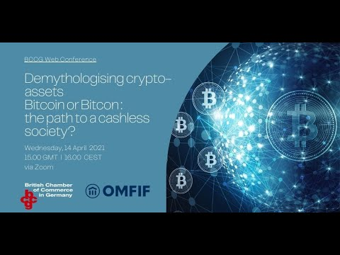 Demythologising crypto-assets Bitcoin or Bitcon : the path to a cashless society?
