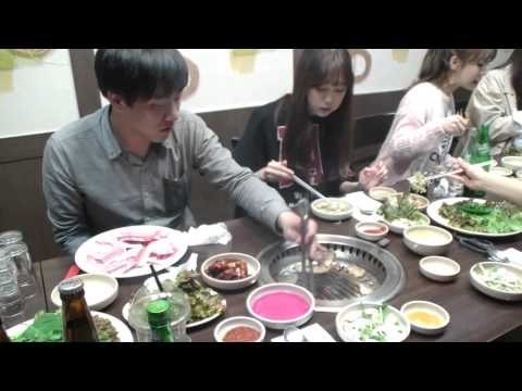 [8] 걸그룹 '블레이디' (Blady)와 함께한 고기 먹방!! - KoonTV