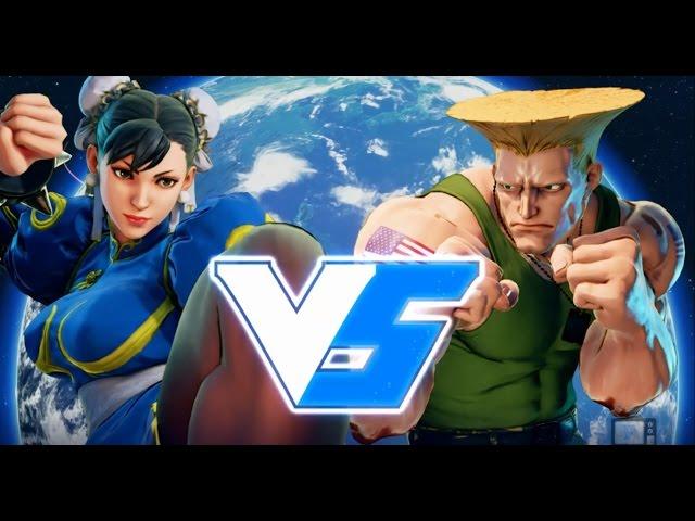 SFV - Chun-li VS Guile