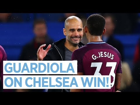 """""""WE ARE SO HAPPY!""""   Chelsea 0-1 Man City   Pep Guardiola Interview"""