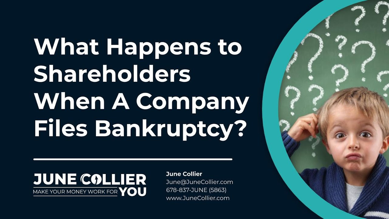 What Happens To Shareholders When A Company Files Bankruptcy