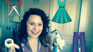 HOW TO HEM WITHOUT A SEWING MACHINE - Vodka with Veronica