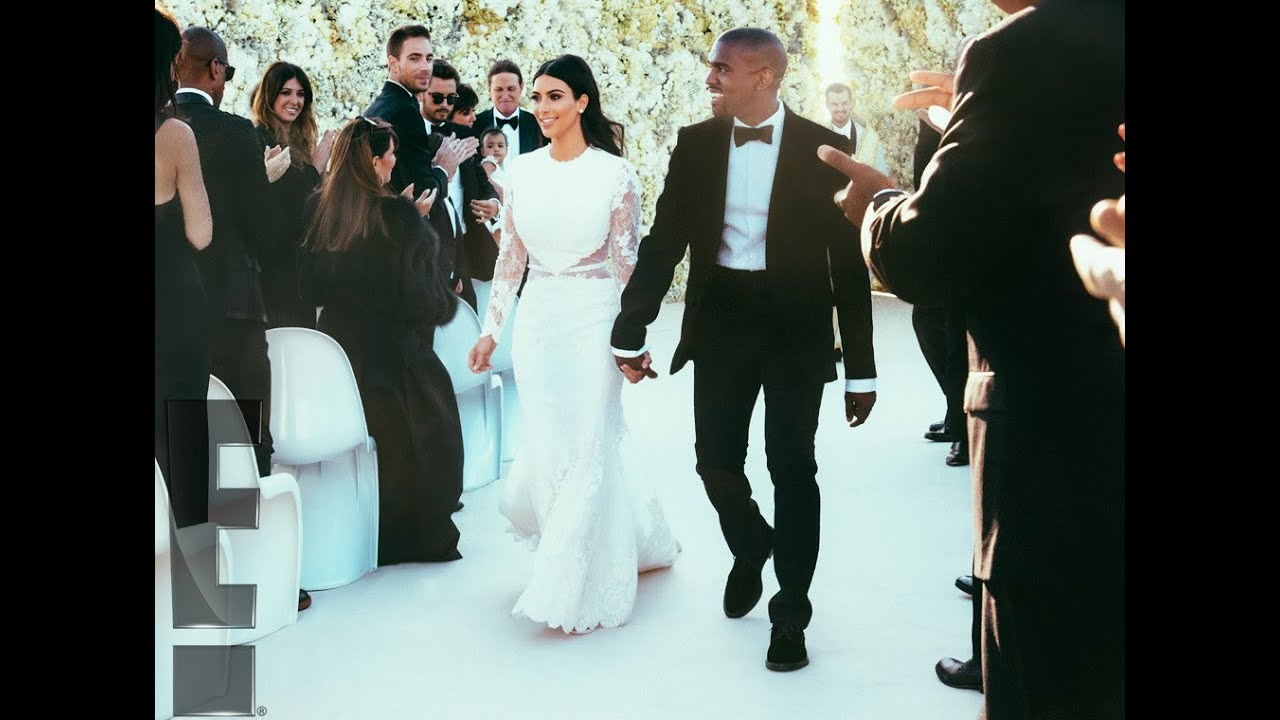 Kim Kardashian S Wedding Dress