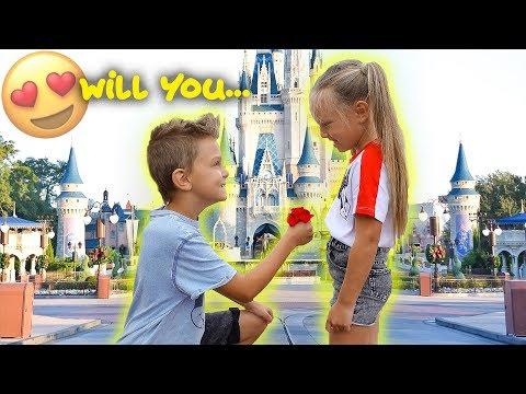 KIDS ADORABLE FUTURE PROPOSAL! 😍Caspian Surprises Peyton with a Big Question!