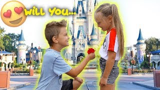 KIDS ADORABLE FUTURE PROPOSAL! 😍Caspian Surprises Peyton with a Big Question!