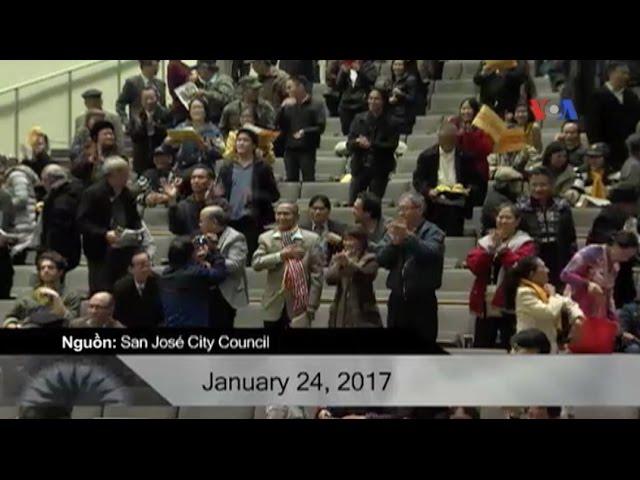 Mỹ: San Jose chính thức cấm treo cờ đỏ sao vàng